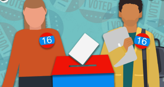 Read more about the article 16 Year Olds Should Get the Vote Just Like Wales